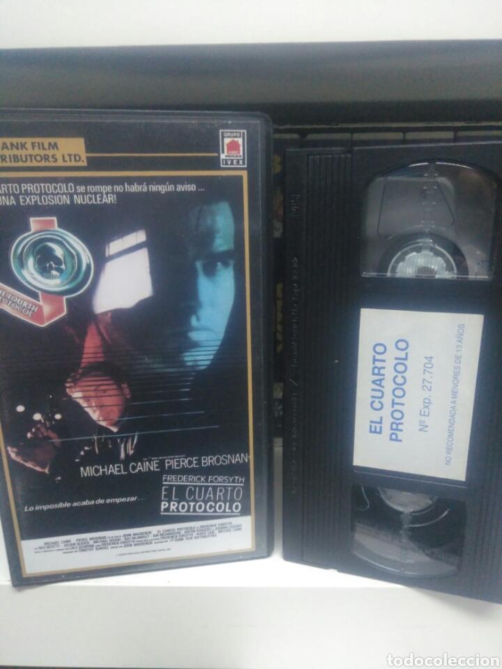 EL CUARTO PROTOCOLO. VHS (Cine - Películas - VHS)