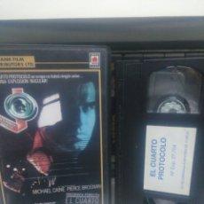 Cine: EL CUARTO PROTOCOLO. VHS. Lote 189461575