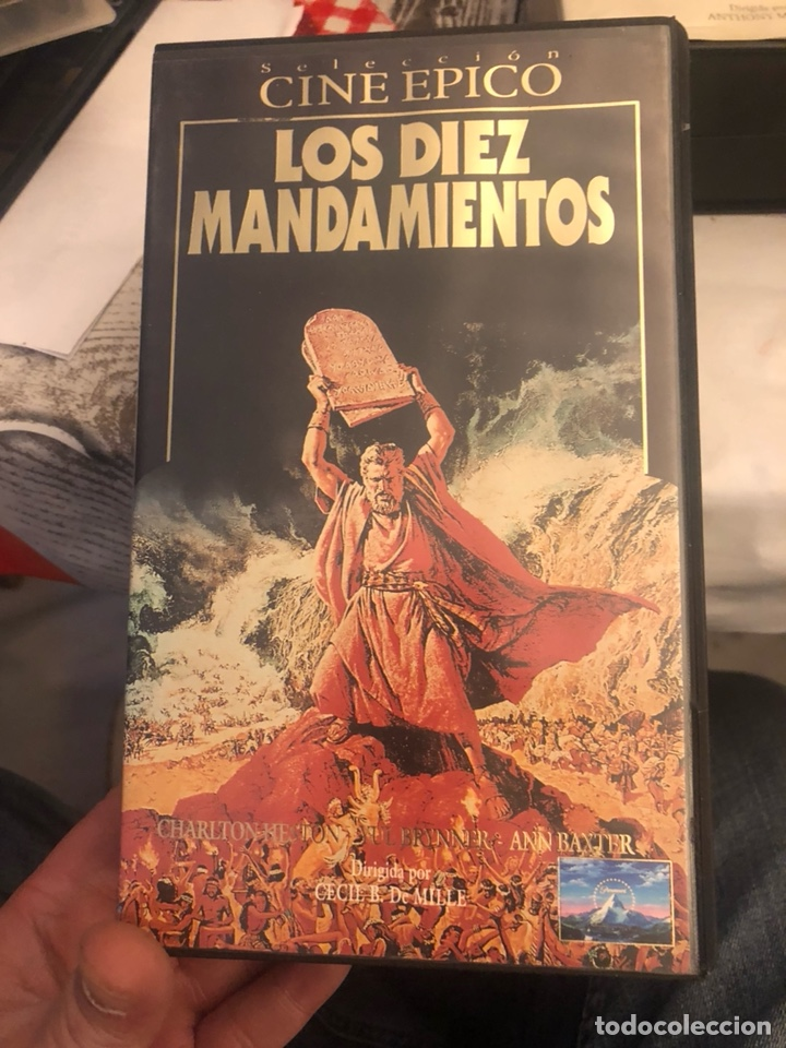 Cine: Lote de 6 películas VHS, cine épico - Foto 4 - 189586548