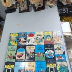 Cine: COLLECTION CASSETTE VHS TINTIN - 18 UNIDADES - VER LAS FOTOS. Lote 189614185