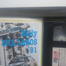 Cine: RALLY MIL LAGOS 91. VHS. Lote 189683771