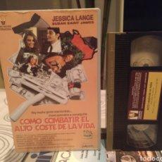 Cine: COMO COMBATIR EL ALTO COSTE DE LA VIDA (1980) VHS DESCATALOGADA. Lote 189795077