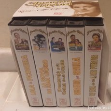 Cine: LOTE DE 5 VHS PELÍCULAS CLÁSICAS ESPAÑOLAS JUANITA REINA. Lote 189900648
