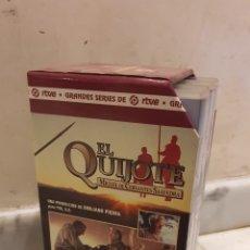 Cine: LOTE DE 3 VHS EL QUIJOTE. Lote 189900861