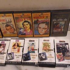 Cine: LOTE DE 10 VHS PELÍCULAS CLÁSICAS ESPAÑOLAS. Lote 189900940