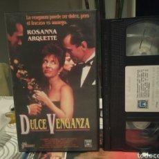 Cine: DULCE VENGANZA - ROSANNA ARQUETTE CARRIE FISHER VHS - 1 EDIC. Lote 189907538