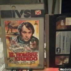 Cine: EL HOMBRE PERDIDO- VHS- PETER HYAMS - DONNA MILLS- 1 EDIC IVS. Lote 189907872