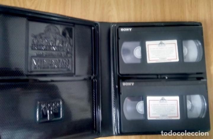 Cine: LO QUE EL VIENTO SE LLEVÓ - MGM - ED 50 ANIVERSARIO- ESTUCHE GRAN FORMATO 2 VHS - Foto 6 - 189927691