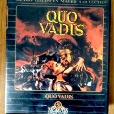 Cine: QUO VADIS - MGM - ED ESTUCHE GRAN FORMATO 2 VHS. Lote 189927772