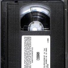 Cine: VHS COBRA SYLVESTER STALLONE. Lote 190150396
