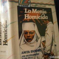 Cine: ''LA MONJA HOMICIDA''1 EDICCION CAJA GRANDE¡¡VHS¡¡¡UNICA EN TC¡¡¡¡¡. Lote 190642885