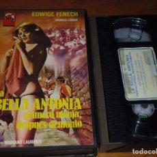 Cine: LA BELLA ANTONIA PRIMERO MONJA, DESPUES DEMONIO - EDWIGE FENECH - VHS. Lote 190897943