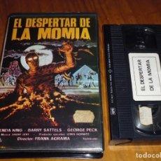 Cine: EL DESPERTAR DE LA MOMIA - FRANK AGRAMA, BRENDA KING - TERROR - ZOMBIES - VHS. Lote 190995153