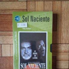 Cine: SOL NACIENTE - VHS PRECINTADO. Lote 191145042