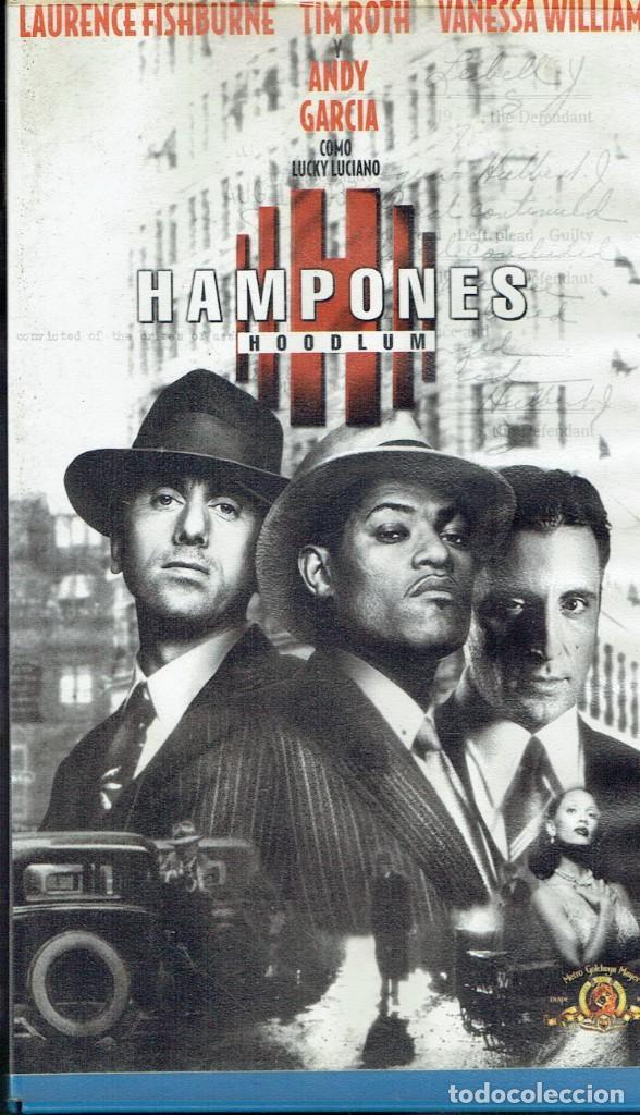 HAMPONES (HOODLUM) (Cine - Películas - VHS)