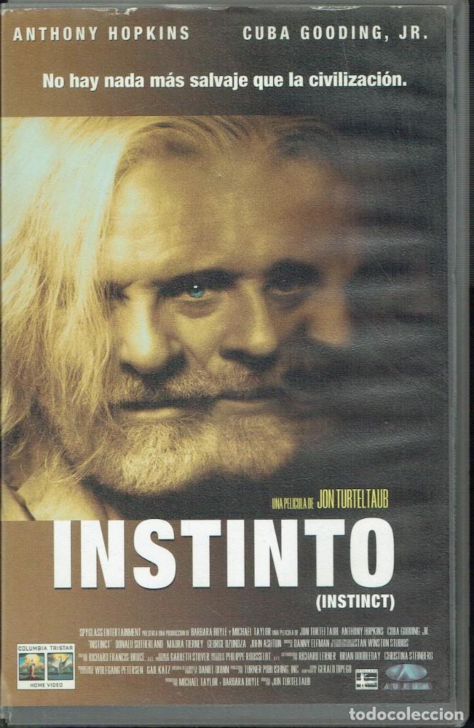 INSTINTO (Cine - Películas - VHS)