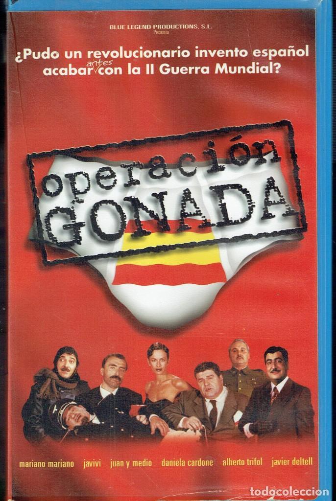 OPERACIÓN GÓNADA (Cine - Películas - VHS)