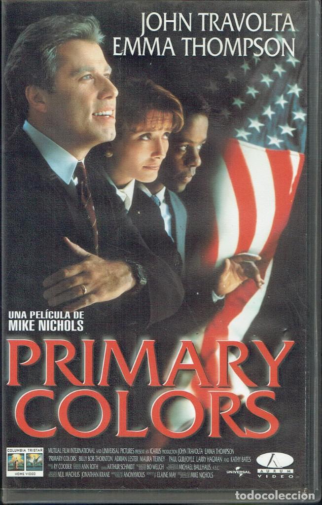 PRIMARY COLORS (Cine - Películas - VHS)