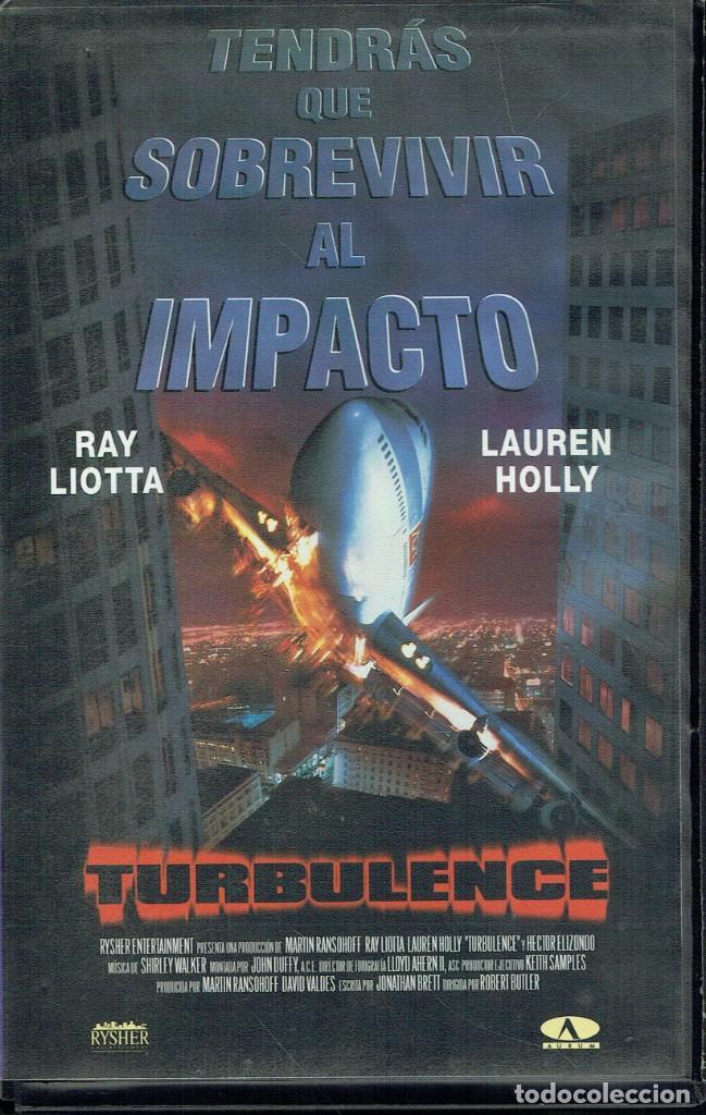 TURBULENCE (Cine - Películas - VHS)