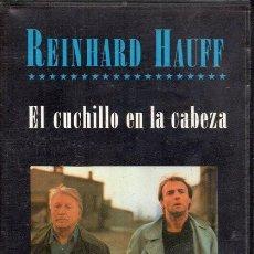 Cine: EL CUCHILLO EN LA CABEZA. VHS. Lote 191213351