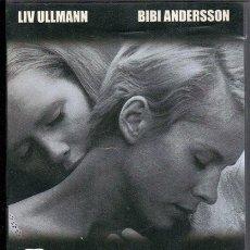 Cine: PERSONA. BERGMAN. VHS. Lote 191213911