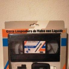 Cine: ANTIGUA CINTA LIMPIADORA CON SU CAJA - VHS - PANTRA GAMUZA PIEL. Lote 191237207