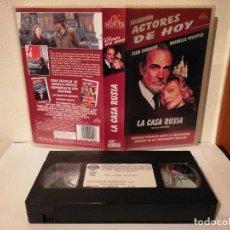Cine: CINTA ORIGINAL - LA CASA RUSIA - VHS - SEAN CONNERY - MICHELLE PFEIFFER. Lote 191237393