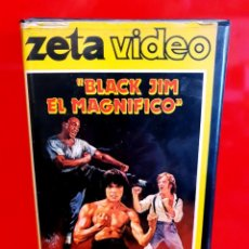 Cine: BLACK JIM, EL MAGNIFICO (1979) - HARD WAY TO DIE - ARTES MARCIALES - OJO FORMATO VIDEO 2000. Lote 191310396