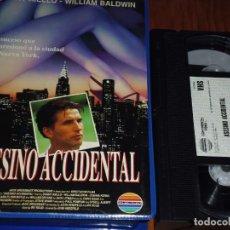 Cine: ASESINO ACCIDENTAL - VHS - PEDIDO MINIMO 6 EUROS. Lote 191332847