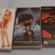 Cine: LOTE PELÍCULAS VHS. Lote 191463256