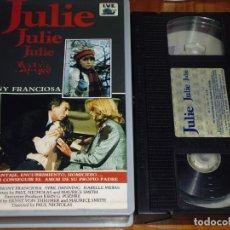 Cine: JULIE JULIE - ANTHONY FRANCIOSA - SUSPENSE - VHS. Lote 191499706