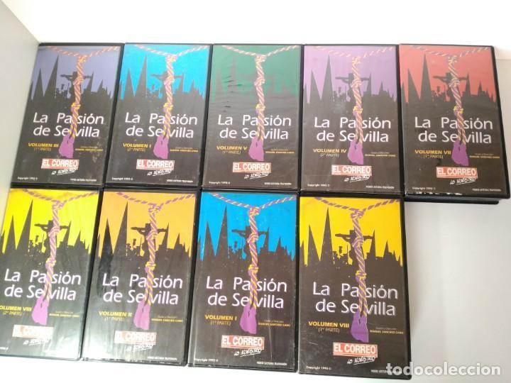 PELÍCULAS VHS, LA PASIÓN DE SEVILLA (Cine - Películas - VHS)