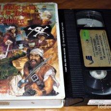 Cine: EL MISTERIO DE LA ISLA MALDITA . PIETRO PIEROTTI - VHS - AVENTURAS. Lote 192136860
