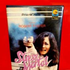 Cine: STRESS MORTAL (1985) - WALKING THE EDGE ... AL FILO DE LA NAVAJA. Lote 192509117