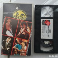 Cine: QUEEN WE WILL ROCK YOU MUSIC CLUB CINTA VHS CONCIERTO LIVE CONCERT KREATEN 1989. Lote 192595255