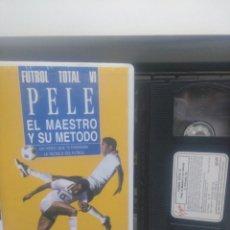 Cine: PELE EL MAESTRO Y SU METODO. VHS. Lote 193089130