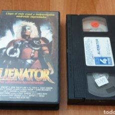 Cine: VHS - ALIENATOR - TERMINATOR EXPLOIT. Lote 193273271