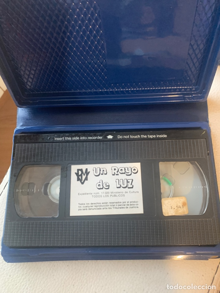 Cine: Un rayo de luz primera edición Marisol VHS - Foto 4 - 193308020