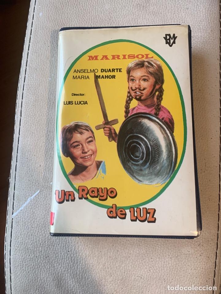 UN RAYO DE LUZ PRIMERA EDICIÓN MARISOL VHS (Cine - Películas - VHS)