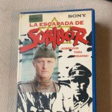 Cinéma: LA ESCAPADA DE SOBIBOR PELÍCULAS VHS PRIMERA EDICIÓN. Lote 193321455