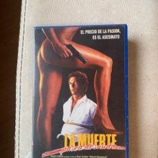 Cine: LA MUERTE PASEAR DESNUDA PELÍCULAS VHS. Lote 193322791