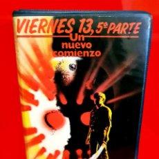 Cine: VIERNES 13. PARTE 5: UN NUEVO COMIENZO - FRIDAY THE 13TH V. Lote 193977621