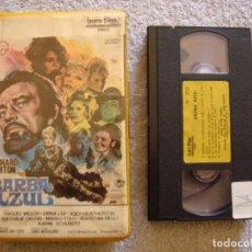 Cine: VHS - BARBA AZUL - 1972 - RICHARD BURTON, RAQUEL WELCH - DIR. EDWARD DMYTRYK. Lote 194230903