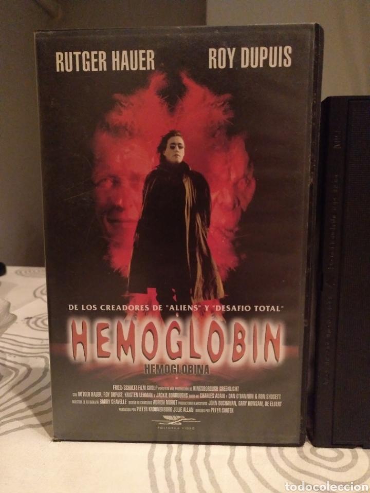 Cine: Hemoglobin- vhs- rutger hauer - Foto 2 - 194235370