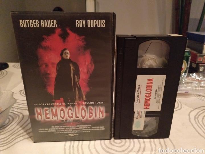HEMOGLOBIN- VHS- RUTGER HAUER (Cine - Películas - VHS)