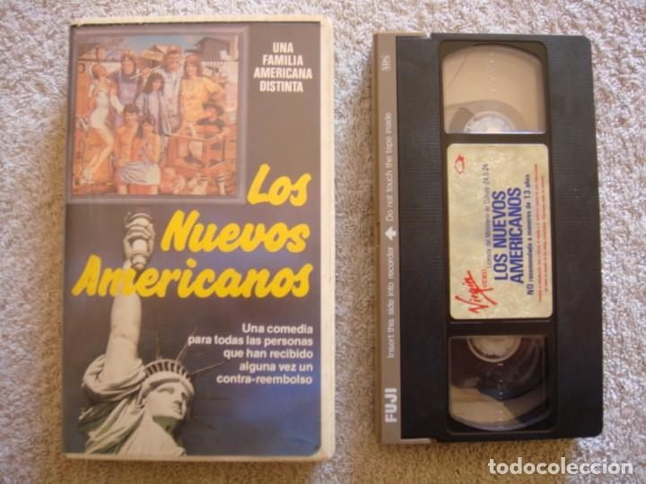 VHS - LOS NUEVOS AMERICANOS (THE CHECK IS IN THE MAIL...) - 1986 - DIR. JOAN DARLING (Cine - Películas - VHS)