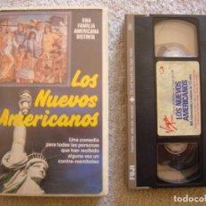 Cine: VHS - LOS NUEVOS AMERICANOS (THE CHECK IS IN THE MAIL...) - 1986 - DIR. JOAN DARLING. Lote 194235377