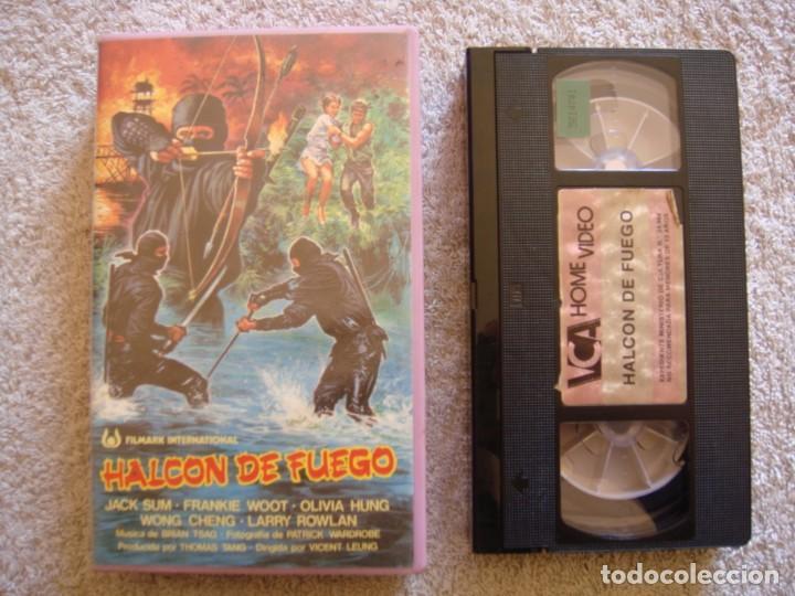 VHS - HALCON DE FUEGO - 1984 - KUK-MYEONG SON, JUNG-LEE HWANG - DIR. WOO-SANG PARK (Cine - Películas - VHS)