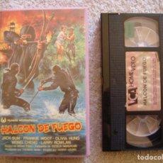 Cine: VHS - HALCON DE FUEGO - 1984 - KUK-MYEONG SON, JUNG-LEE HWANG - DIR. WOO-SANG PARK. Lote 194235928