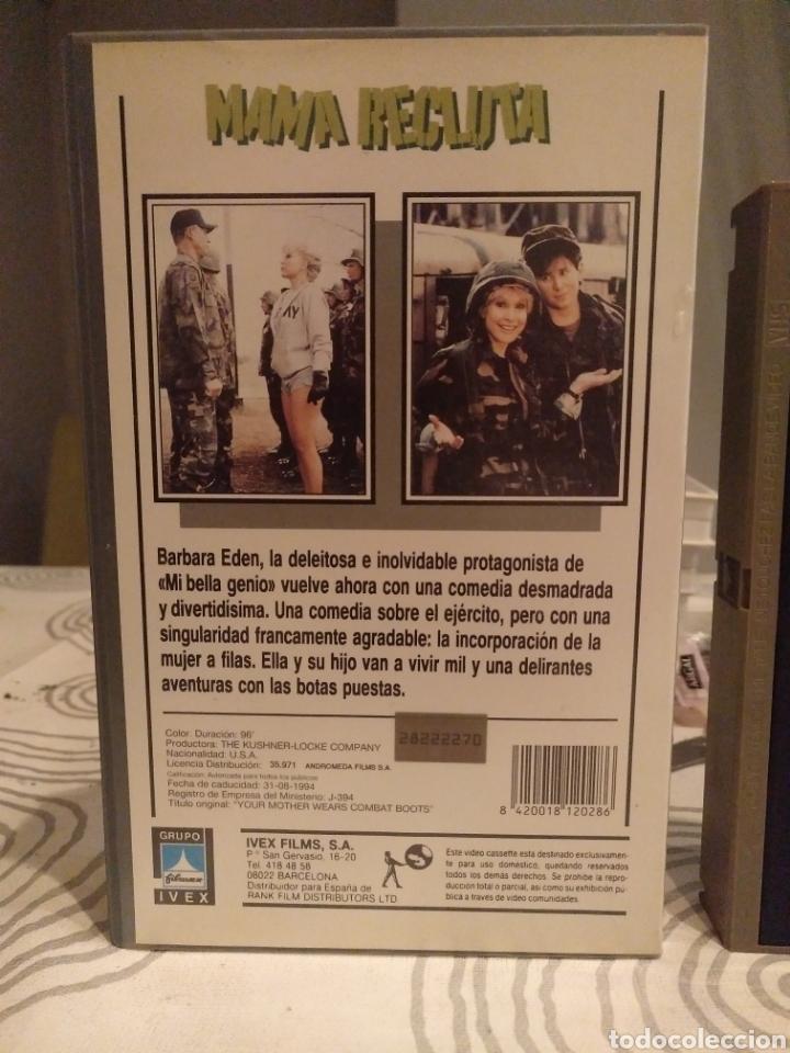 Cine: MAMA RECLUTA- VHS- barbara eden - Foto 3 - 194236273